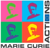 Image showing the logo of the Marie Curie Actions of the EU
